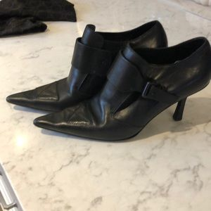 Gucci shoe boots.   All leather